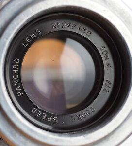 Cooke-Speed-Panchro-50mm-f-2-lens-Mitchell-Std-mount-ser-1-cine-50-f2-s1