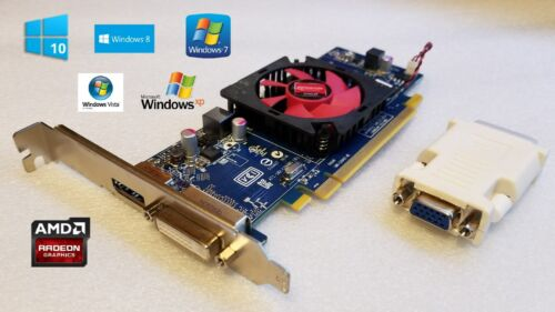 Windows 10 HP Pavilion p6120f p6124c p6127c DVI 1GB HD Video Graphics Card