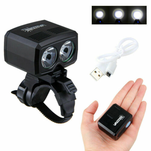 USB Rechargeable XML T6 LED Bicycle Headlight Bike Front Light Cycling Head Lamp