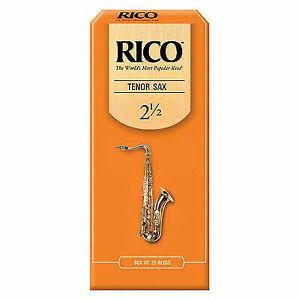 Rico Tenor Sax Reeds Strength 2.5 3-pack