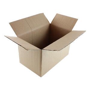 "50 8x5x4 ""EcoSwift"" Brand Cardboard Box Packing Mailing Shipping Corrugated"