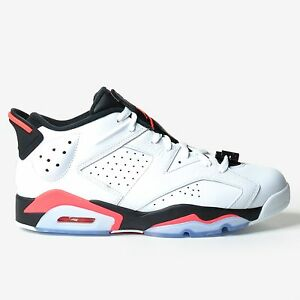 6e17288bd9a468 Air Jordan 6 Retro Low White 2015 Infrared 23 Red Black VI Men s DS ...