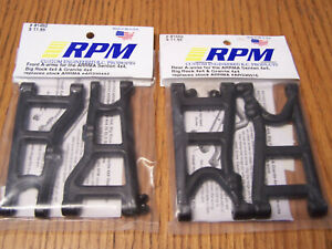 2 ARRMA Front Suspension Arms Big Rock//Granite 4x4//Senton 4x4 AR330443