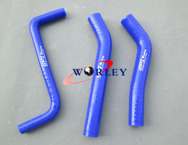 WHITE FOR Honda TRX450R TRX450 2006-2009 07 08 silicone radiator coolant hose