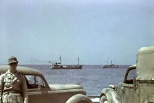 WW2 photo German in North Africa by Erwin Rommel #08