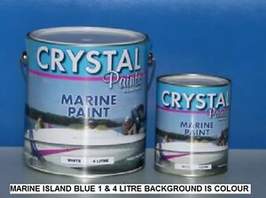 MARINE-PAINT-1-X-4-LITRE-ISLAND-BLUE-1-PAC-BRUSH-ROLL-SPRAY-DELIVERED