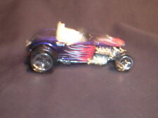 Hot Wheels Purple Buggy with Red Flames and White Inside 1999