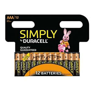 12-X-DURACELL-AAA-LONG-LASTING-POWER-ALKALINE-BATTERIES-SIMPLY-PACK-LR6-MN1500