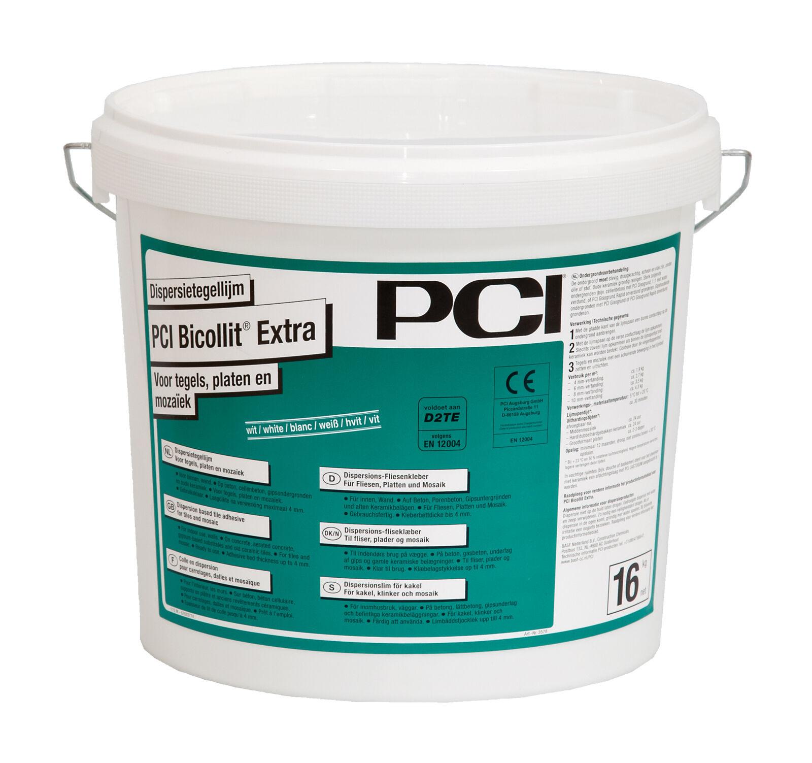 PCI Bicollit Extra 16 kg Fliesenkleber für keramischen Fliesen Platten & Mosaik