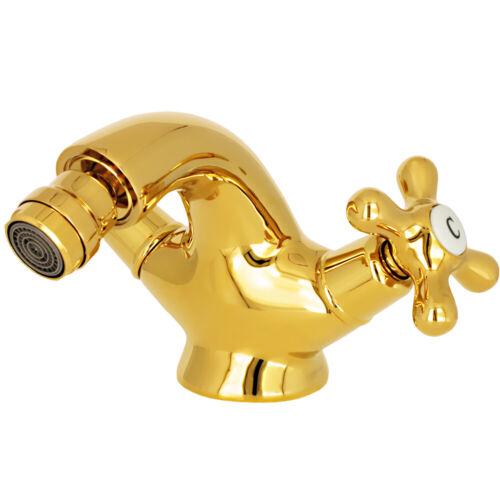 RETRO DESIGN FAUCET BIDET MIXER TAP BATH GOLD SANLINGO GLORIA