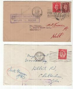 Great-Britain-2-x-KGV1-and-QE11-RTS-covers