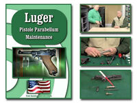 Luger Pistol Disassembly And Reassembly Dvd