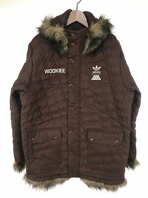 Adidas Star Wars Wookie Jacket Chewbacca style Originals Limited NEW w Tags   eBay
