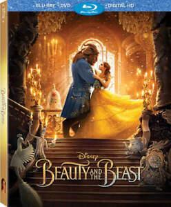 Beauty-and-the-Beast-2017-Emma-Watson-2-Disc-Blu-ray-DVD-BLU-RAY-NEW