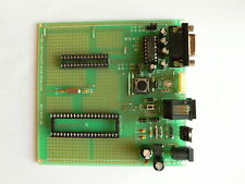 Microchip PIC Prototype Board w RS232 and ICSP, 28- & 40-pin DIP