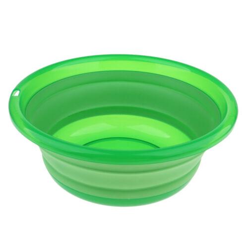 Tragbar Waschbecken, faltbar Wasserschüssel für Indoor oder Outdoor, viele