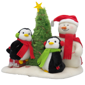 2006-Hallmark-Jingle-Pals-Very-Merry-Trio-Singing-Snowman-and-Penguins-SEE-VIDEO