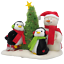 2006-Hallmark-Jingle-Pals-Very-Merry-Trio-Singing-Snowman-and-Penguins-SEE-VIDEO thumbnail 1