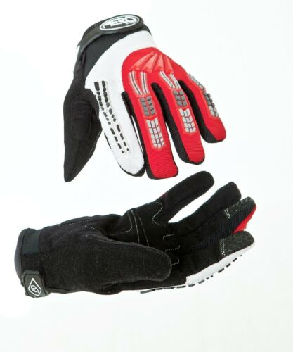 Aero Sport® AeroJump™ BMX Downhill Glove Junior Adult Black/Red Large