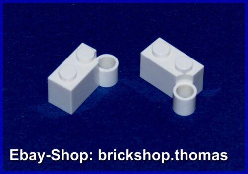 Hinge White NEU // NEW 3831 Lego 2 x Scharnier Stein Gelenk weiß