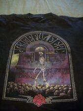 Vintage Grateful Dead T Shirt Skull Walker / Rose & Lightning Bolts L1990 GDM