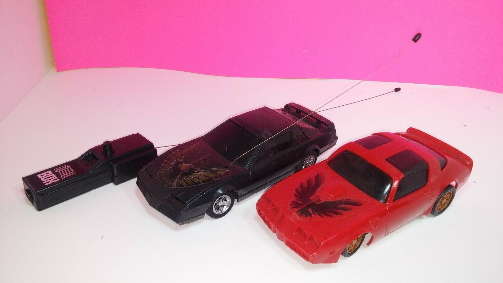 Vintage Smokey and The The The Bandit Firebird Remote Control Car Lot bb027e