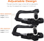 thumbnail 3 - Bike Pedal Adapter Toe-Clips-Cage - Compatible with Peloton Bike and Bike