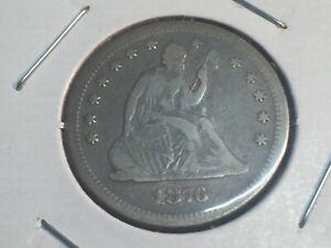1876-S-LIBERTY-SEATED-QUARTER-NO-RESERVE