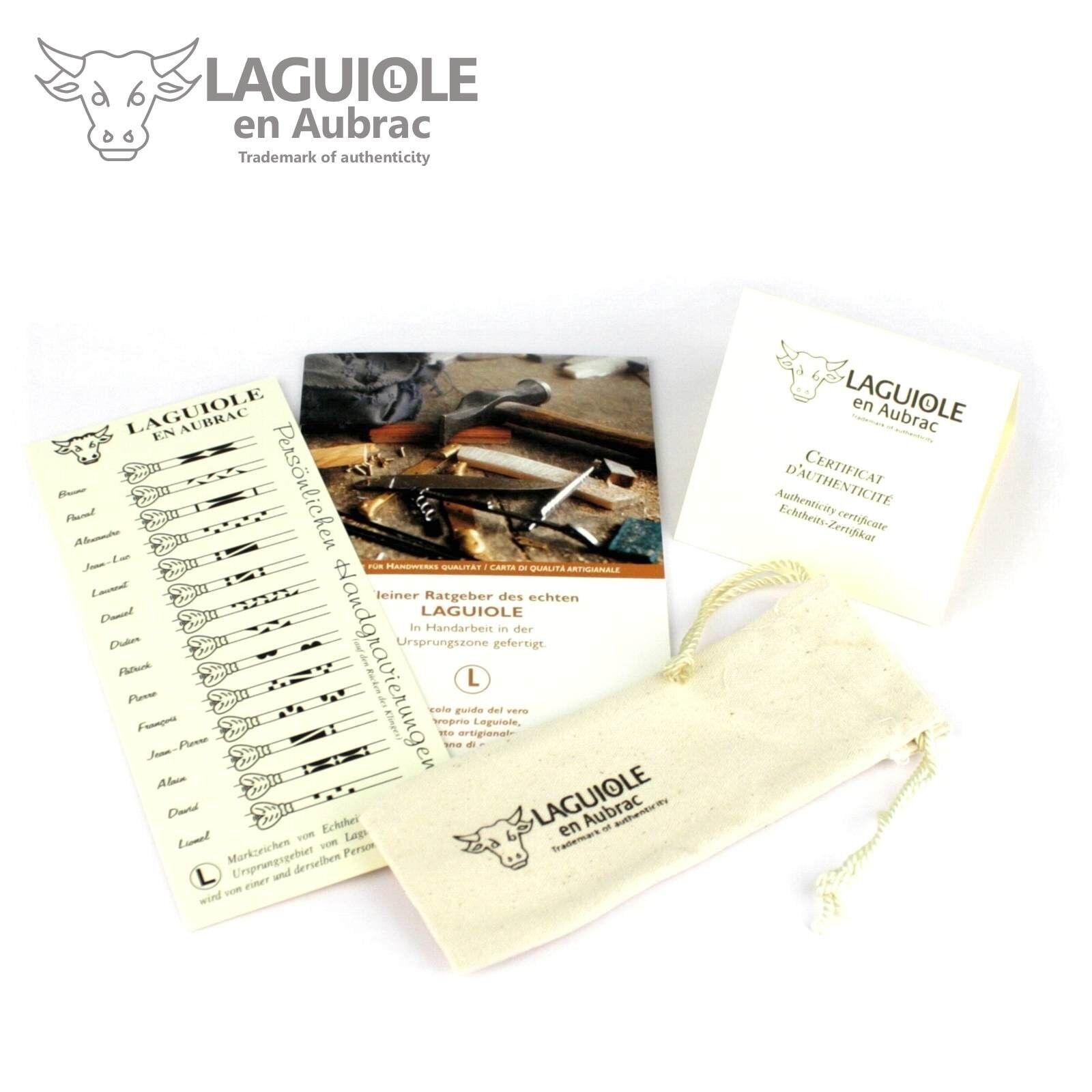 Laguiole en Aubrac - Sondermodell Krokus - - - Aubrac Buche - 12 cm Taschenmesser da898e