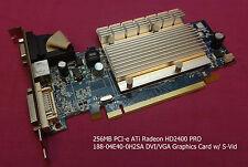 256MB PCI-e ATi Radeon HD2400 PRO 188-04E40-0H2SA DVI/VGA Graphics Card w/ S-Vid