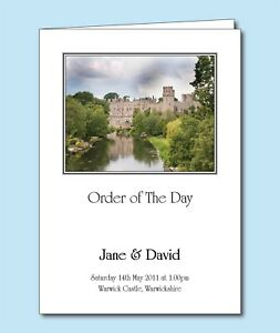 Personalised-Wedding-Order-of-Service-Day-Cover-Booklet-Venue-Church-Photo