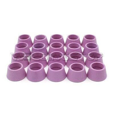 Intellective 20pcs Ag-60 Sg-55 Wsd60 Plasma Torch Consumables Shield Cup Business & Industrial