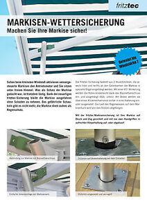 Markisen St Tzen Markisen Sturmsicherung Ebay