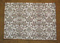 Earth Echoes Baroque Gold & White Tapestry Placemat