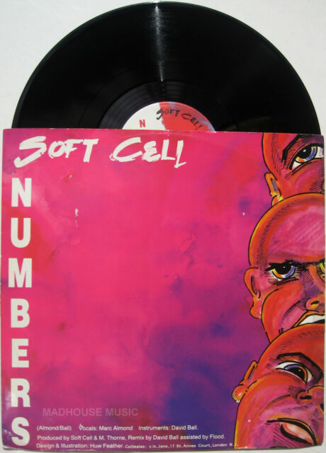 "SOFT CELL 12"" Numbers EXT Barriers 45 Rpm 1983 Some Bizarre Label UK Orig"