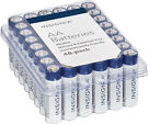 48-Pk Insignia AA Batteries (White/Blue)