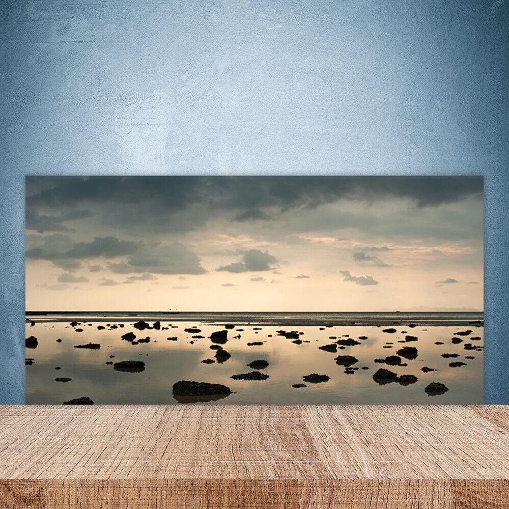 Crédence de cuisine en verre Panneau Paroi 100x50 Paysage Eau