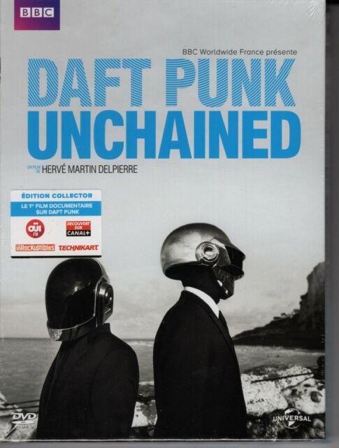 Daft Punk - Unchained DVD éd limitée digibook luxe - sous blister