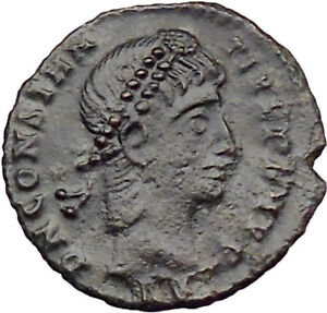CONSTANTIUS-II-son-of-Constantine-the-Great-Ancient-Roman-Coin-Wreath-i29864