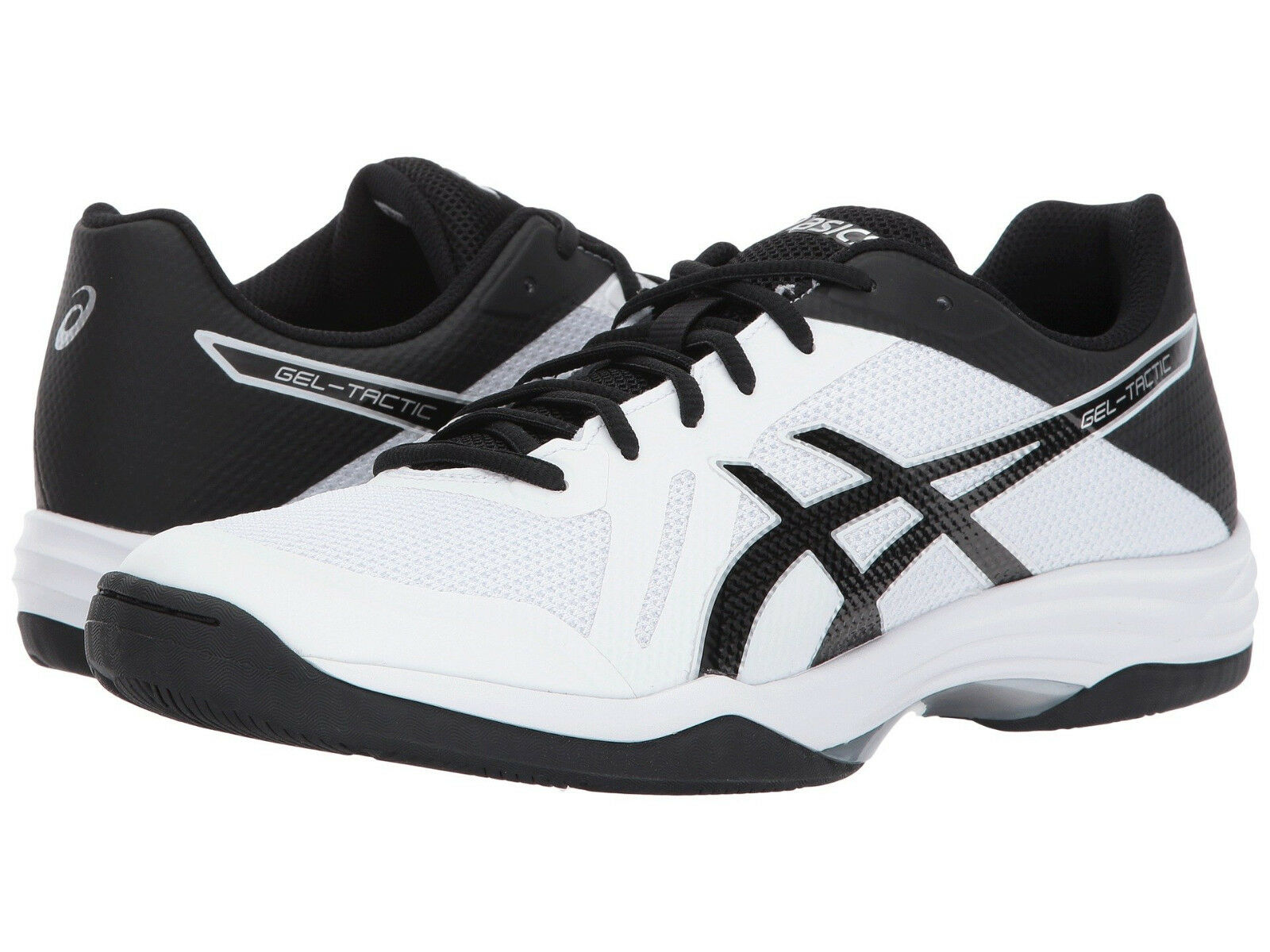Asics Homme Gel-Tactic Sz US 15 M Blanc Synthetic w/Balck Sneakers Chaussures 100.00