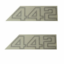 "1986 Oldsmobile ""442"" Fender Decals PAIR"