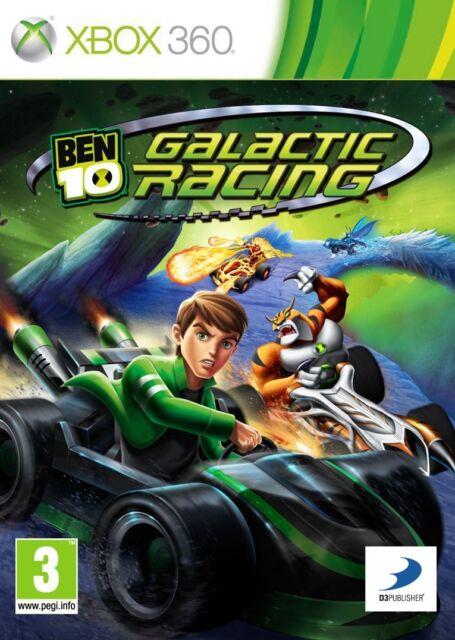 Ben 10 Galactic Racing XBox 360 NEW And Sealed Original UK Edition Not Budget
