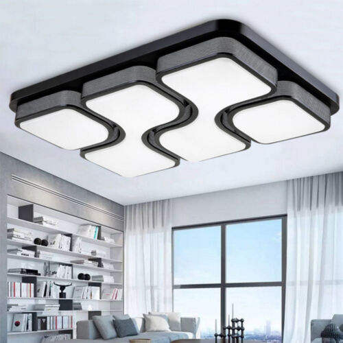 36W LED Panel Ceiling Light Kitchen Bathroom Living Lamp Day//Warm White Dimmable