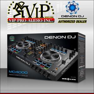 Denon Dj Mc4000 Premium 2 Channel Serato Midi Sample Pad Controller
