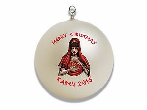 Personalized Ares Greek God Christmas Ornament