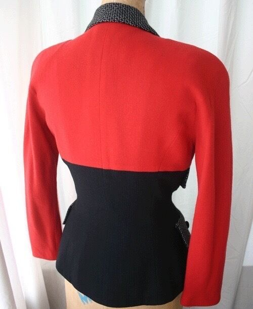 YT TRAVILLA Three Tone Fitted Jacket 80s - image 4