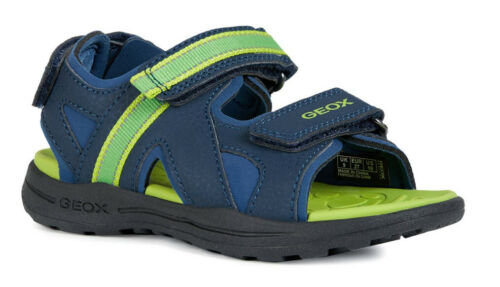 100/% Positive Reviews Geox J Gleeful B A Boys Navy//Lime Sandals
