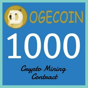 ⛏️ Dogecoin (DOGE) Mining ⛏️Get 1000 Dogecoins To Your DOGE Wallet Guaranteed!