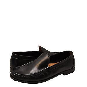 Uomo-Scarpe-Kenneth-Cole-In-the-in-Pelle-Mocassino-KMF5LE187-Zone-Nero