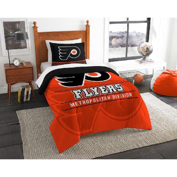 NHL Philadelphia Flyers  Draft  Bedding Comforter Set Multiple Größes